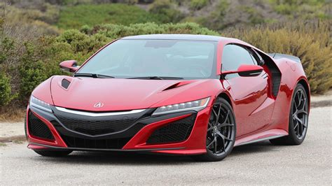 second drive 2017 acura nsx motor1