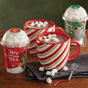 Holiday hot chocolate gift set with mugs gourmet hot chocolate gifts