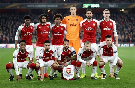 arsenal europa league 2017 arsenal vs red star belgrade 5 things we learned from