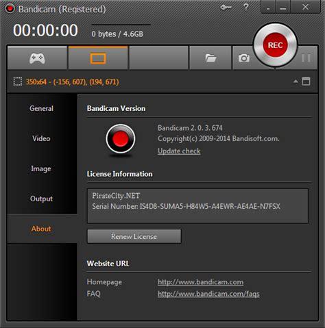 fraps full version pirate direct bandicam 2 3 1 840 multilingual incl keygen