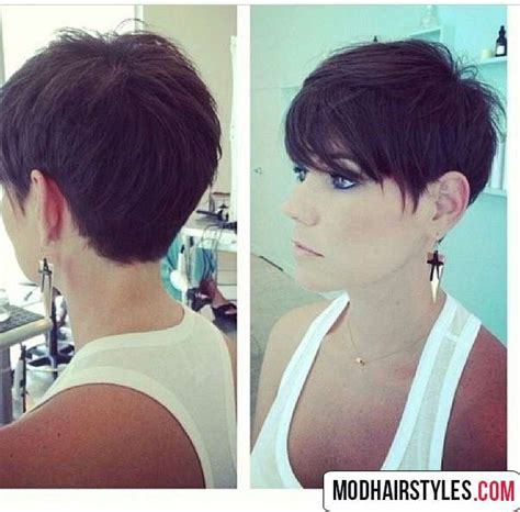 Pixie Hairstyles For Thick Hair by Hairstyles For Thick Hair Haircuts