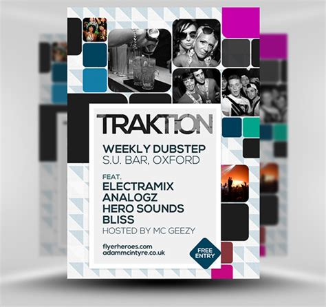 flyer template free traktion free student flyer template psd