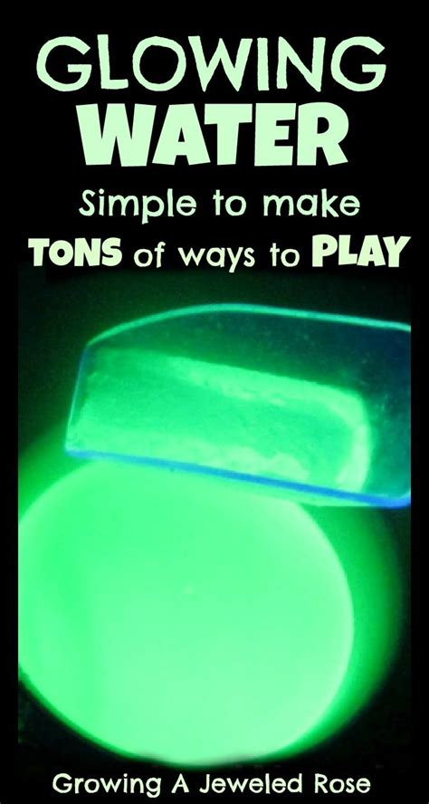 Ways To Feel Cool On A Day by Glowing Water Easy To Make And So Many Ways To Use It