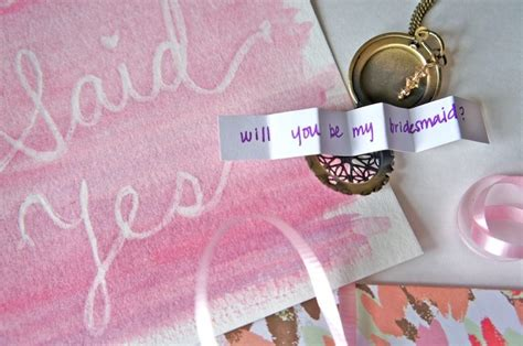 10 Unique Ways For A To Propose by 10 Creative Ways To Propose To Your Bridesmaids