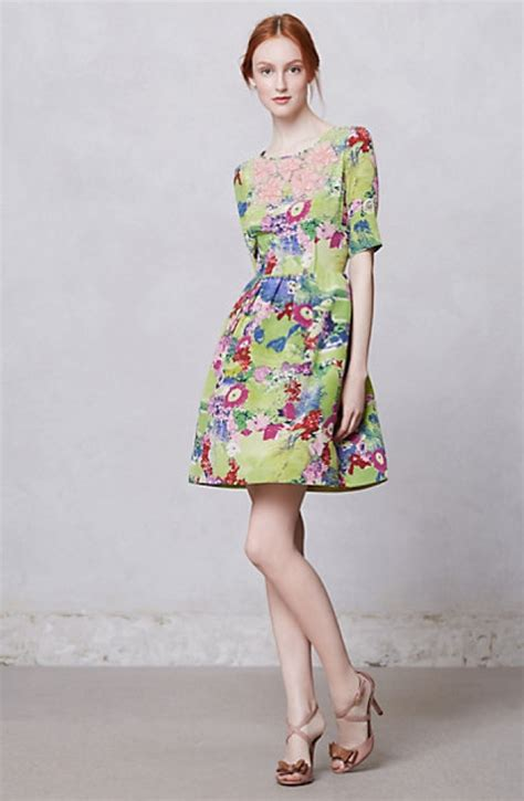 Anthropologie Summer Dress by Fashion Highlight Happy Summer Dresses From