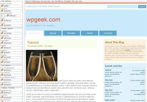Wordpress Layout Maker | wordpress design kinderleicht selbst erstellen jhrweb
