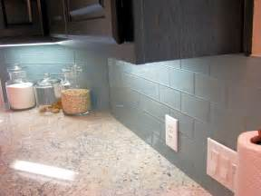 Kitchen Glass Backsplashes by Ocean Glass Subway Tile Subway Tile Outlet