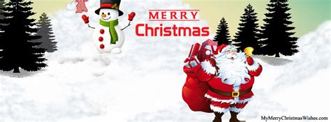 beautiful merry christmas cover   facebook timeline