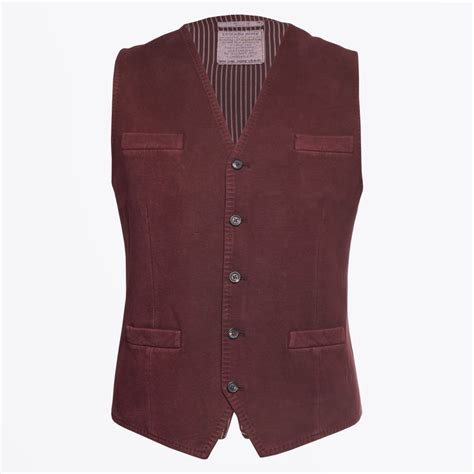 Alisha Maroon Blazer circolo 1901 4 button waistcoat burgundy mr mrs stitch