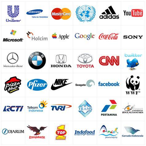 gambar desain logo perusahaan desain cur pengertian logo contoh logogram dan logotype