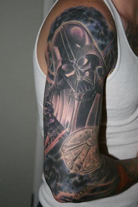 star half sleeve tattoo designs 70 wars tattoos