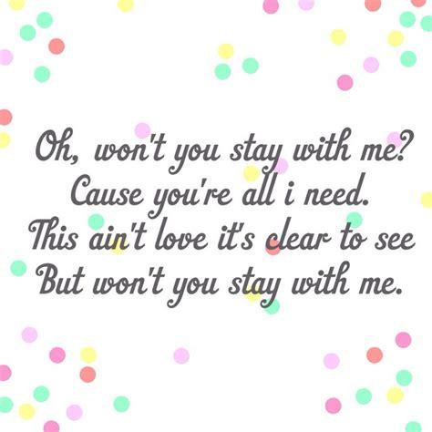 printable lyrics sam smith stay with me stay with me sam smith lyrics pinterest
