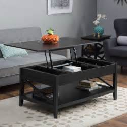 Black Living Room Table 39 Modern Coffee Tables With Storage
