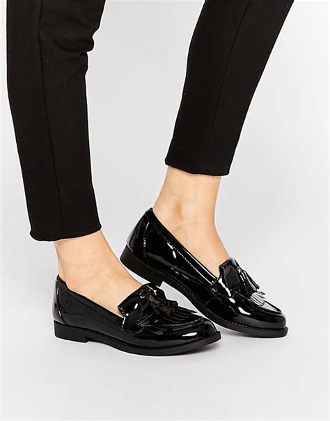 loafers new look new look new look patent loafers