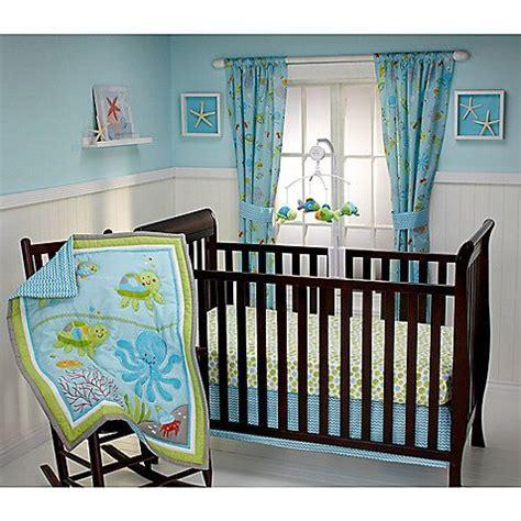 Crab Crib Bedding Bedding By Nojo 174 Dreams 3 Crib Bedding Set Nursery Crabs And Comforter