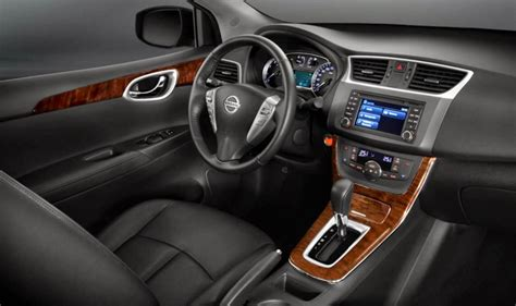 2014 nissan sentra interior backseat novo sentra 2014 itens de s 233 rie e especifica 231 245 es car