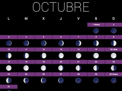 Calendario Lunar Octubre 2017 Calendario Huerto Lo Es Sano