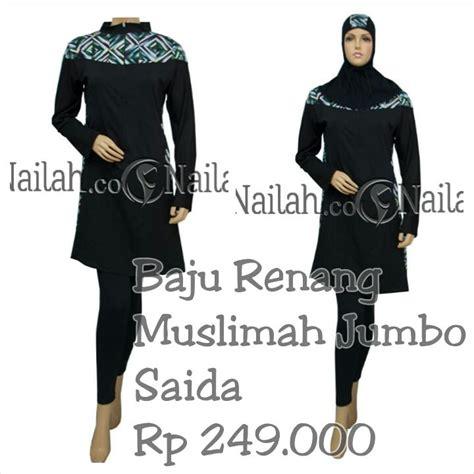 Baju Renang Muslimah Rahmani baju renang muslimah saida harga rp 189 000 terbuat