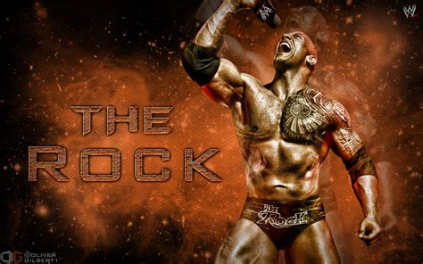 The Rock Hd Wallpaper