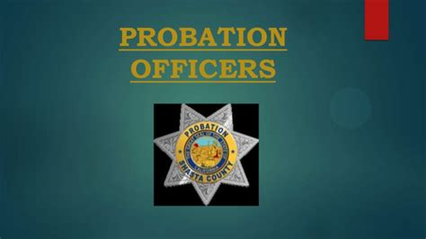 Search On Probation Probation Officers