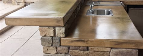 Outdoor Kitchen Concrete Countertop by Outdoor Kitchens And Hardscaping In Sacramento Kitchen