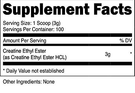 Premium Ethyl Maltol 10 Gram T3010 1 nutricost creatine ethyl ester powder ships free