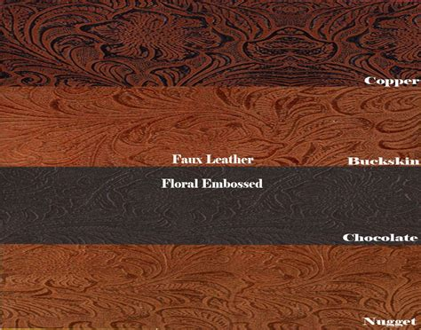 Embossed Leather Upholstery by Faux Leather Vinyl Fabric Embossed Tooled Vinyl 54 Quot Wide