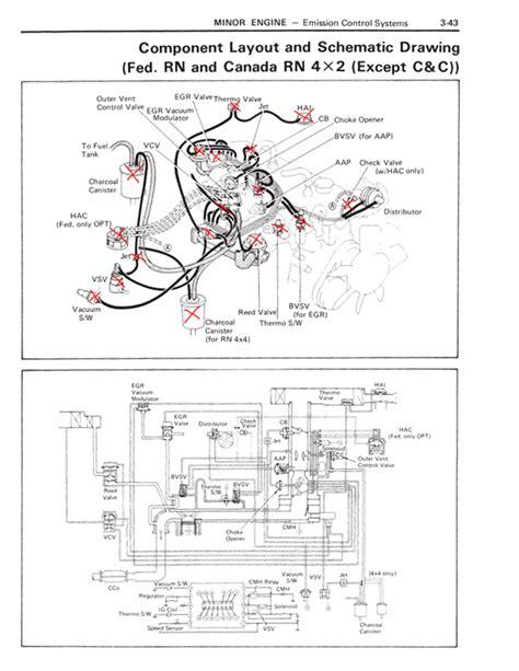 22r carburetor diagram toyota 22r carburetor diagram toyota auto parts catalog