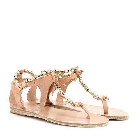 ancient sandal ancient sandals chrysso leather sandals in