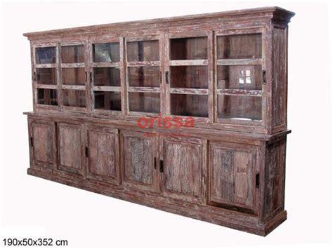 credenze angolari mobili legno riciclato legno di demolizione mobili