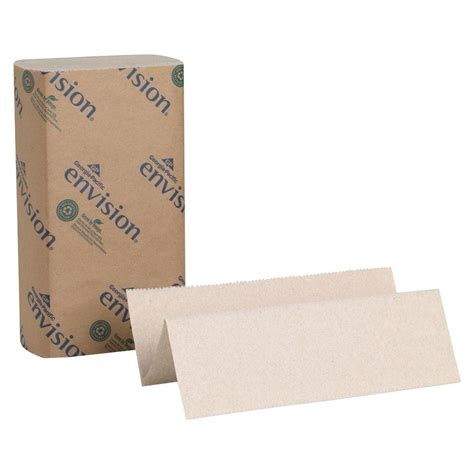 Fold Paper Towel - pacific envision brown multi fold paper towels