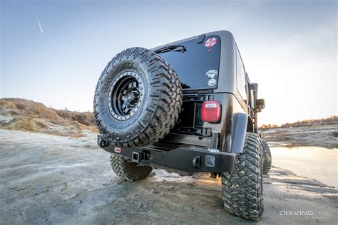Jeep Wrangler Tire Carrier Arb Jeep Wrangler Rear Bumper And Tire Carrier Review