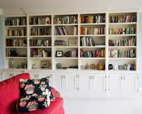 Home Bookshelves by Painted Bookcase Traditional Home Office Charleston