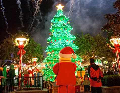 legoland christmas legoland california lights its tree and previews its 2016 attractions