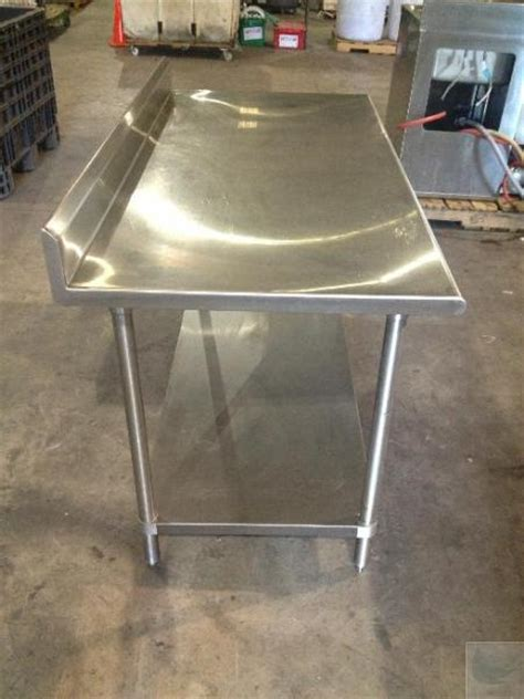 Used Stainless Steel Countertops For Sale by 5 Stainless Steel Commercial Kitchen Counter With Table