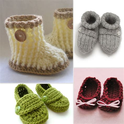 Handmade Baby Booties - handmade newborn baby booties popsugar