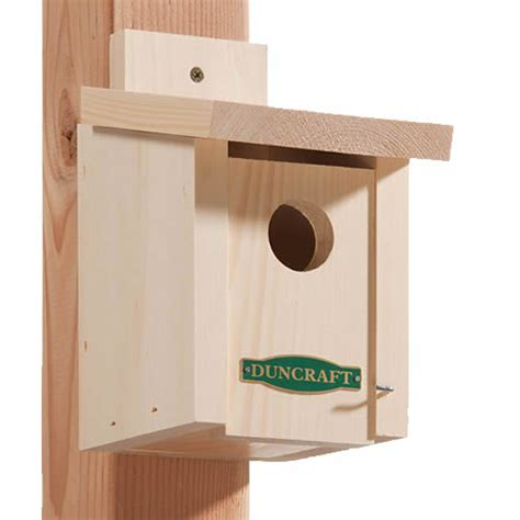 our chickadee bird house houses plans designs