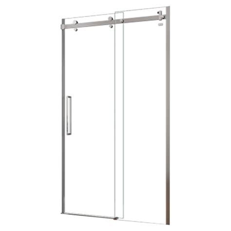 halo shower door halo frameless sliding shower door 48 quot x 78 quot rona