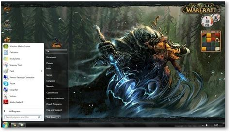 theme google chrome world of warcraft world of warcraft cataclysm windows 7 theme wallpapers