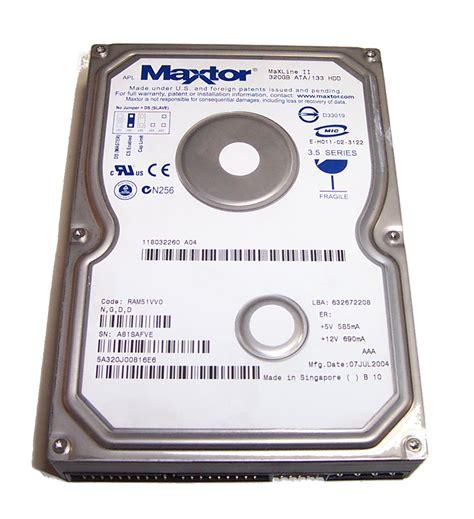 Hardisk Ata maxtor 5a320j0 maxline ii 320gb ata 133 3 5 quot disk drive ebay