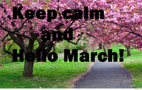 calm march