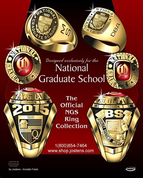 Jostens Mba Rings by Class Rings The National Graduate School Of Quality