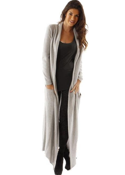 Maxi Dress Cardigan cardigan with maxi dress sweater tunic