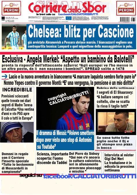 corriere dellos homepage calciatoribrutti