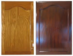 Pictures staining oak cabinets darker