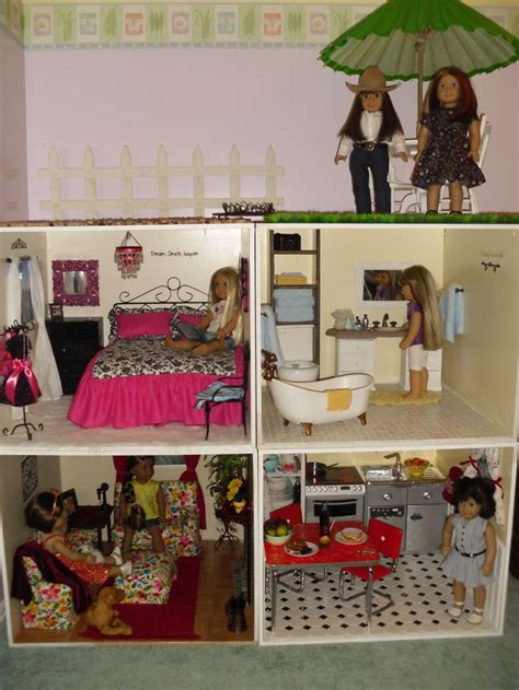 make your own american girl doll house 30 best printed dollhouse images on pinterest doll