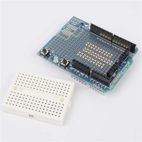 Arduino Uno Breadboard Protoshield Prototype Proto Shield for arduino uno protoshield 5110 r3 prototype expansion
