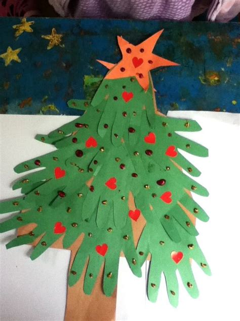 construction paper crafts for boys preschool crafts for handprint tree craft