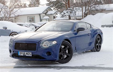 bentley gt spied next bentley continental gt winter