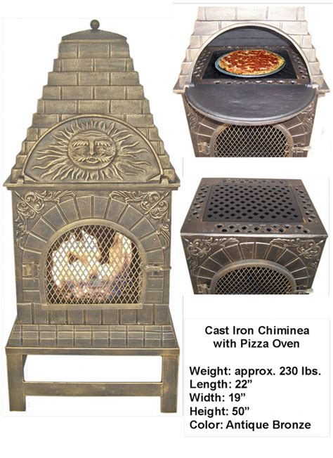 Cast Iron Chiminea Pizza Oven Chiminea Pizza Oven Quotes